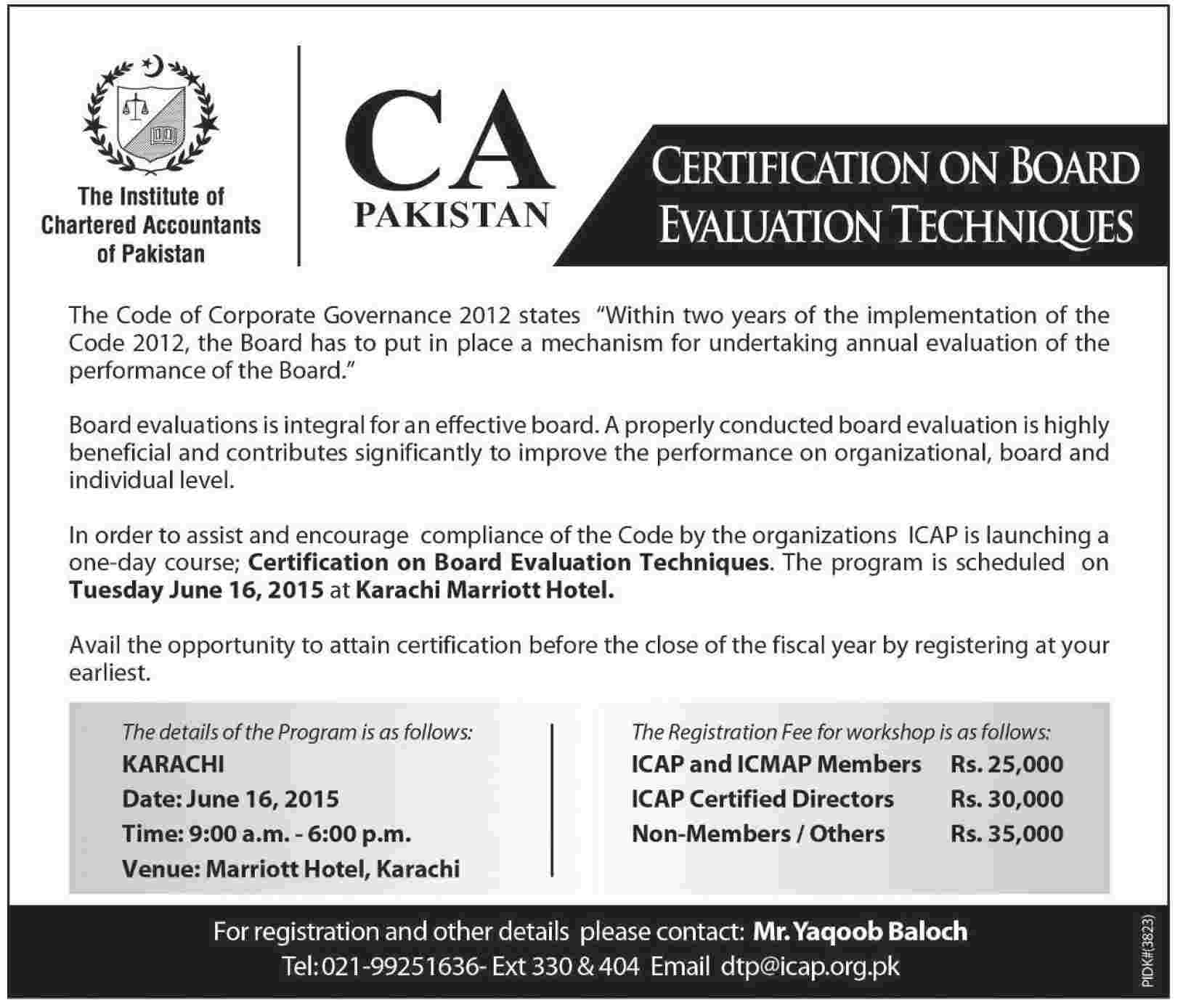 code of corporate governance pakistan