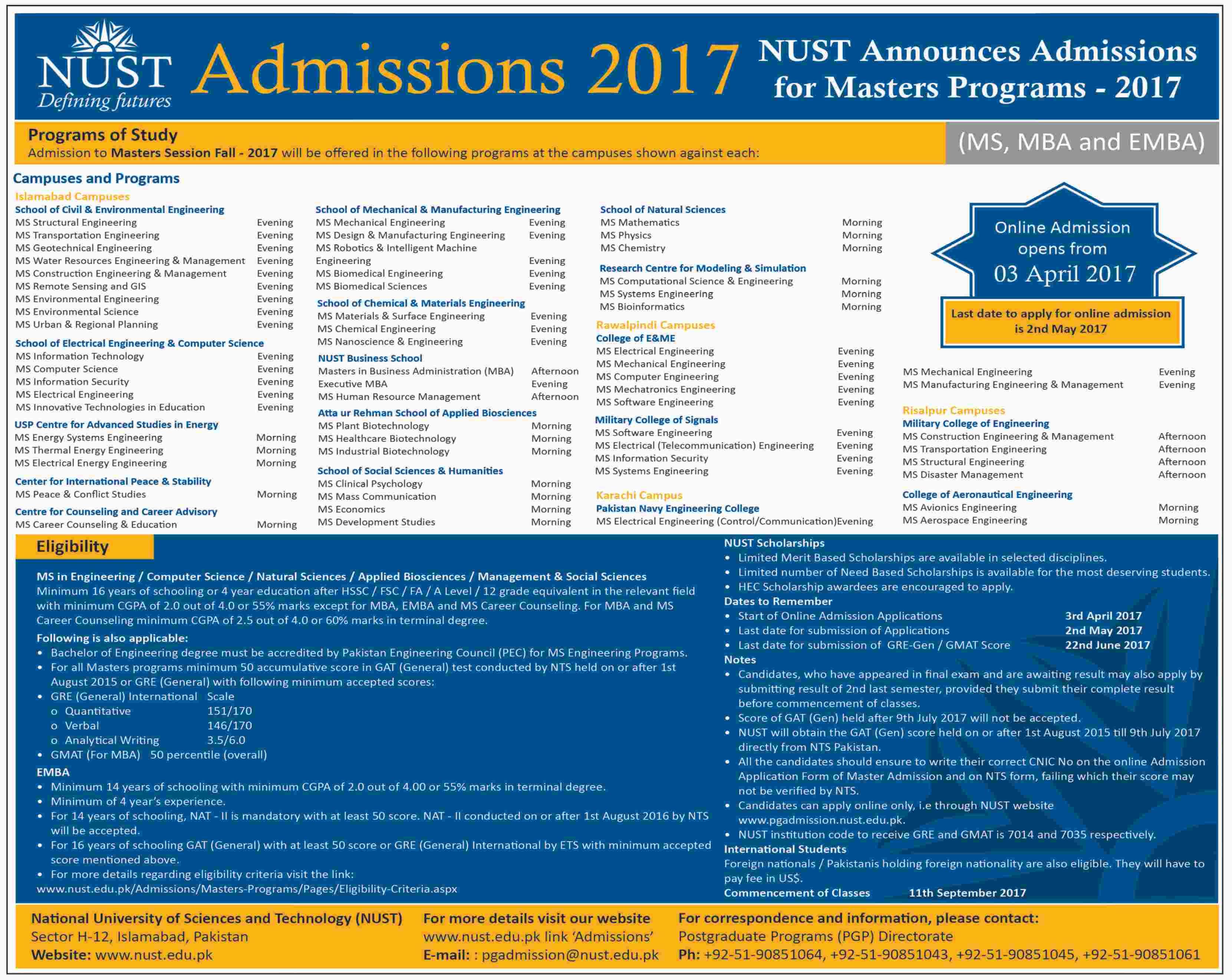 Nust Medical College Admission Form on student admission form, bzu admission form, lums admission form, online admission form, comsats admission form, mba admission form, ned university admission form,