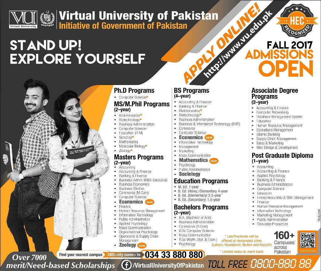 Web Designing Virtual University
